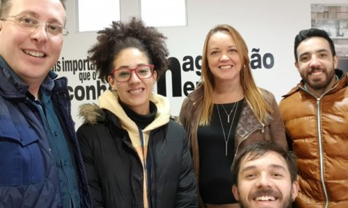 Visita na empresa VASTO de Caxias do Sul